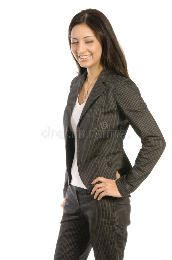 Succesfull woman stock images