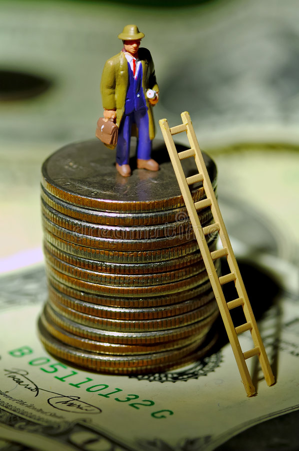 Download Success stock image. Image of ladder, miniature, corporate - 190457