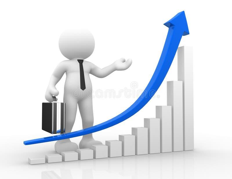 Download Success stock illustration. Image of figure, finance - 23508914