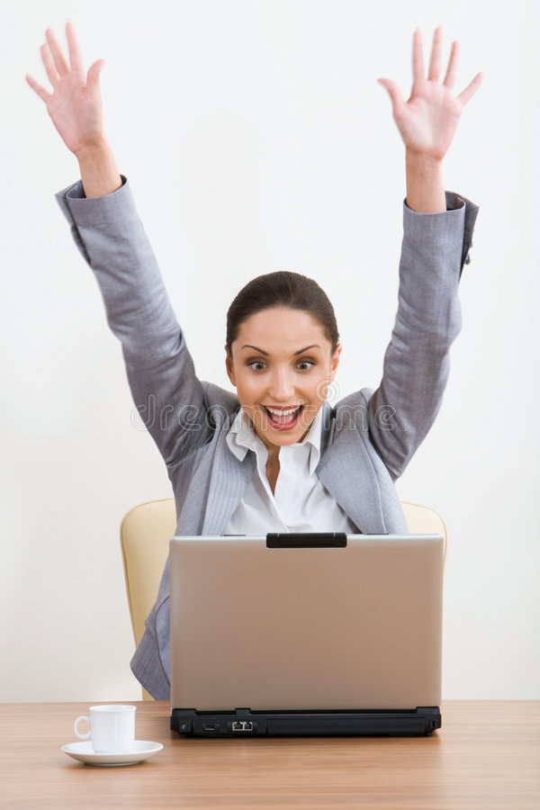 Success! royalty free stock photography