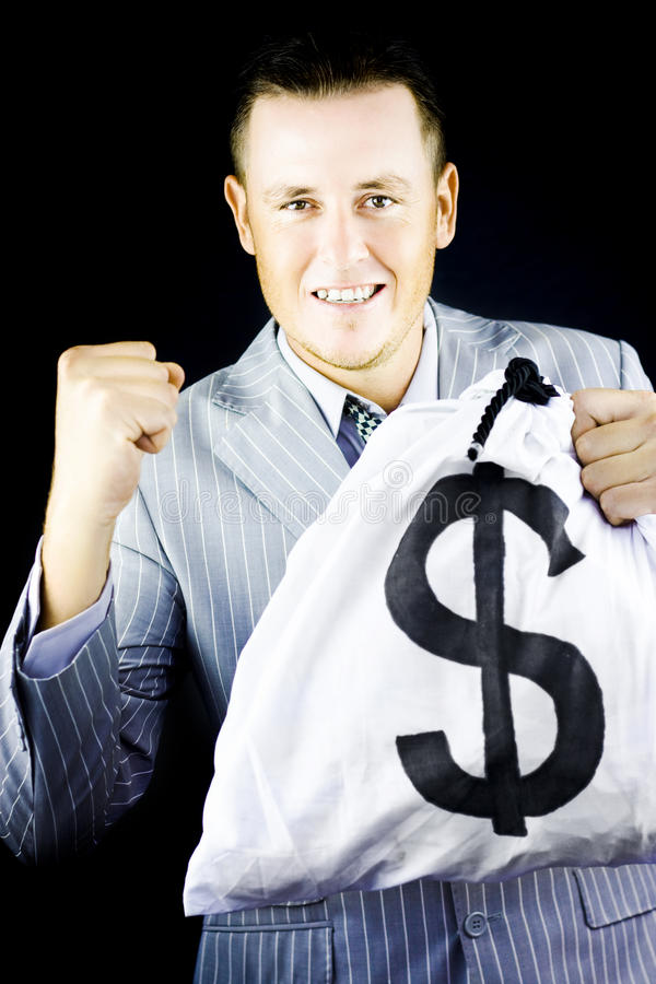 Download Success brings wealth stock photo. Image of earnings - 24364062