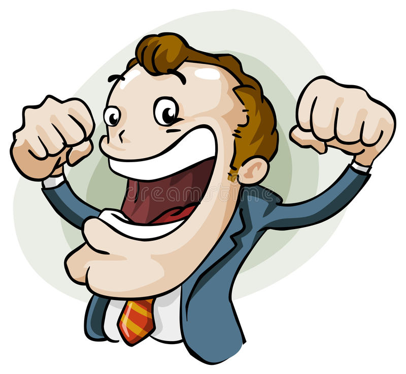 Success in Business stock illustration