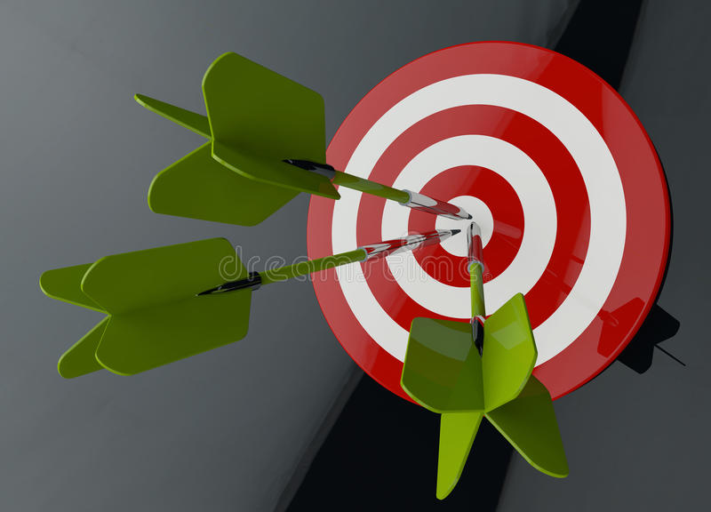 Success business concept stock illustration