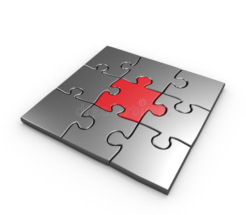 Download Success Of Business Puzzles Concept Stock Illustration - Image: 17922732
