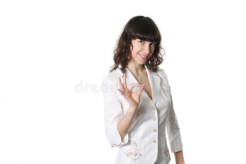 Success Businesswoman Stock Images
