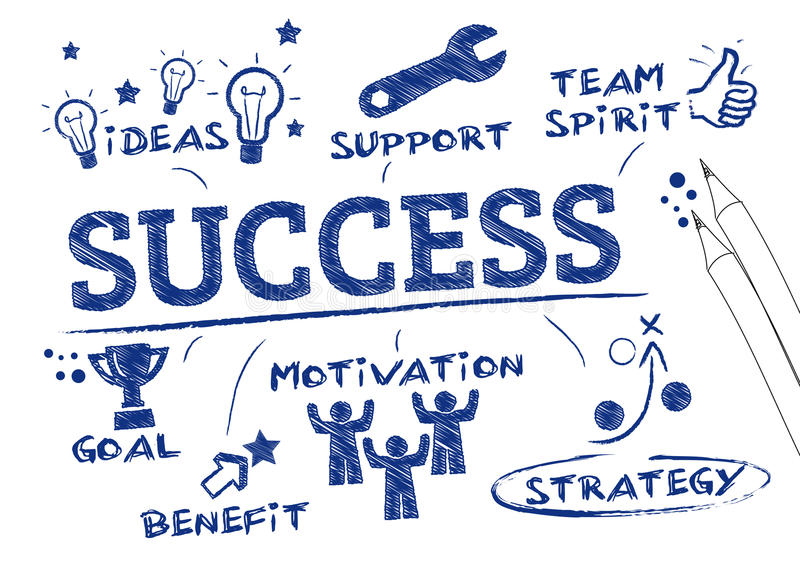 Success concept vector illustration