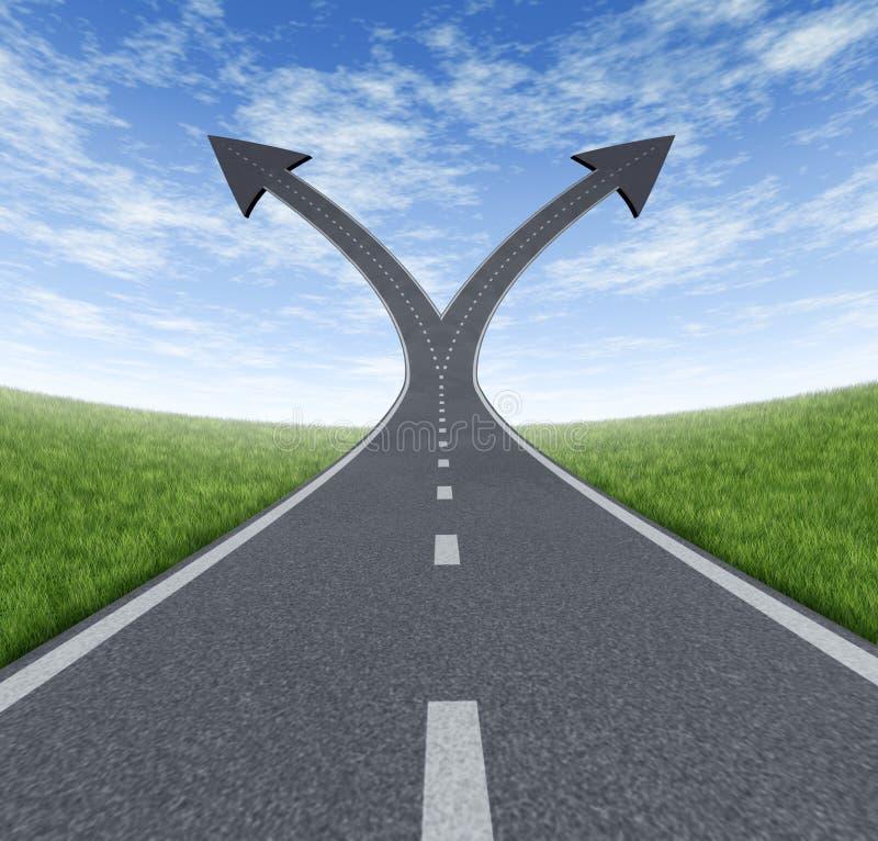 Success Decision stock illustration