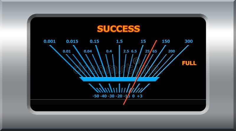 Success device stock illustration