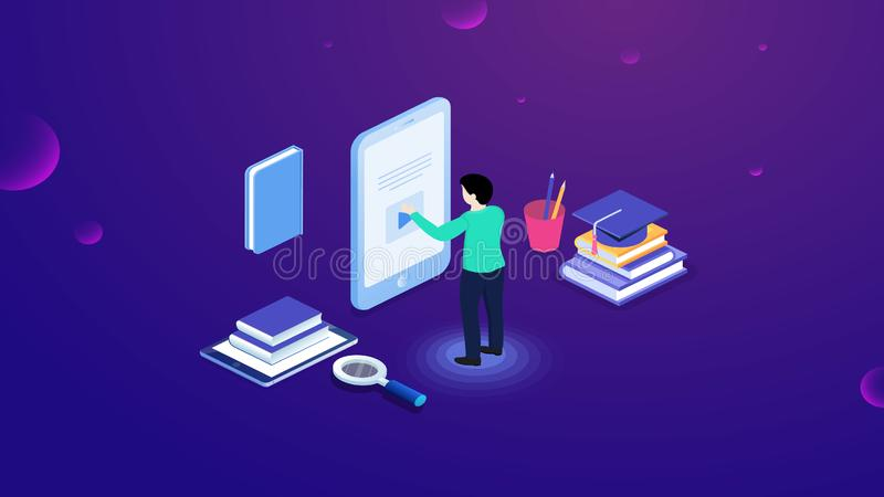 Success elements of an internet investment. Financial web analysis and strategy symbol. Vector design. Illustration vector illustration