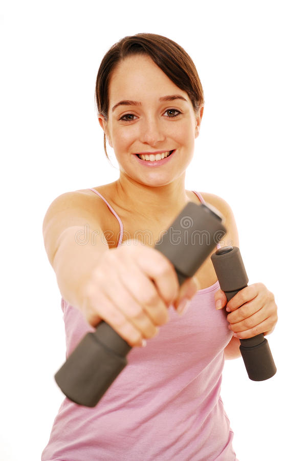 Success with exercise royalty free stock photo