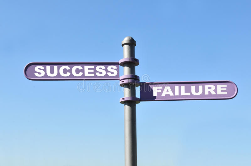 Download Success and failure stock image. Image of fail, alternative - 19771961