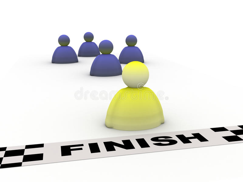 Download Success finish stock illustration. Image of illustration - 12510865