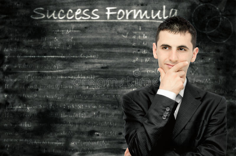 Success formula stock photo
