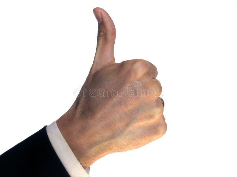Success gesture royalty free stock photos