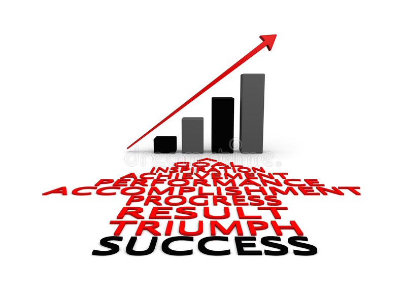Download Success and growth stock illustration. Image of success - 26478714