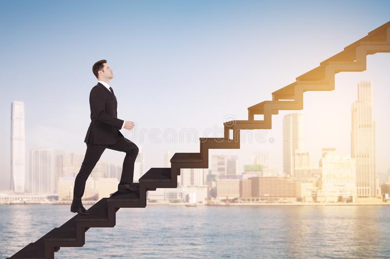 Success and growth concept royalty free stock images