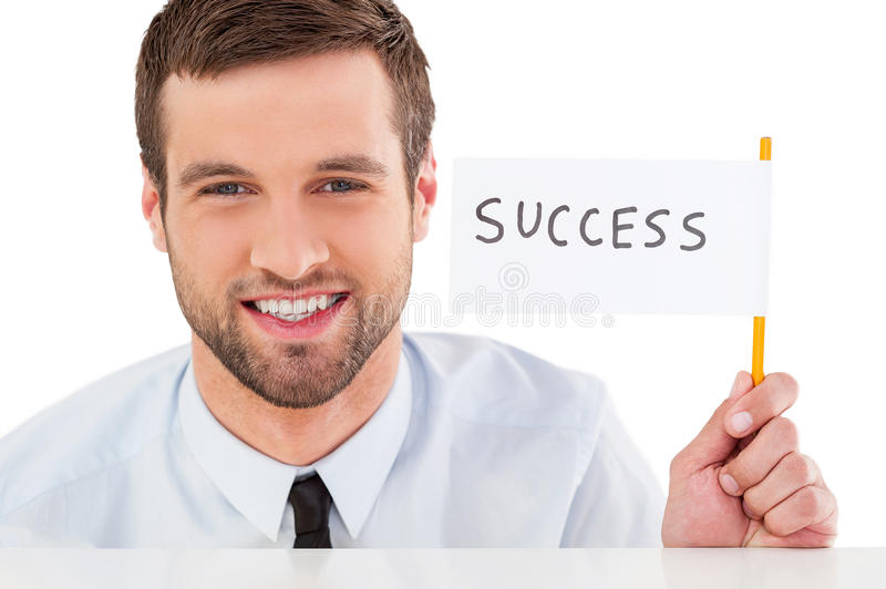 Success! stock images