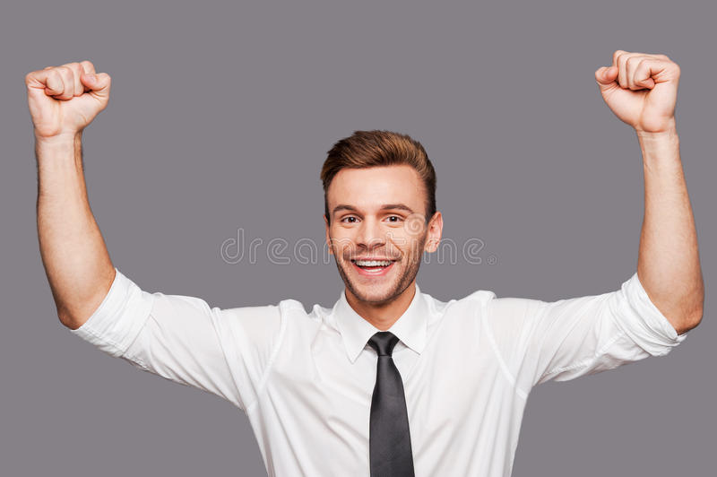 It is success! royalty free stock photos