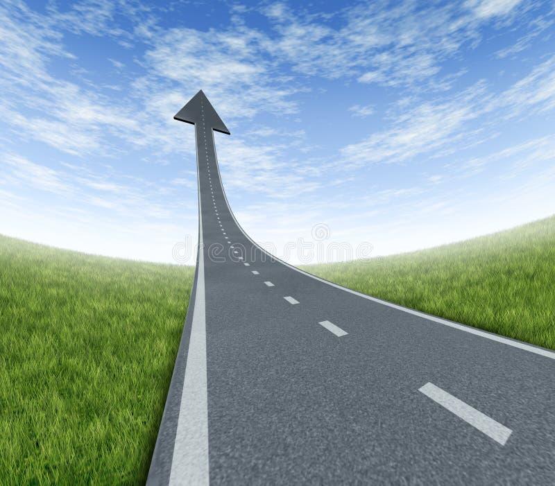Download Success Highway stock illustration. Illustration of dimensional - 22995815