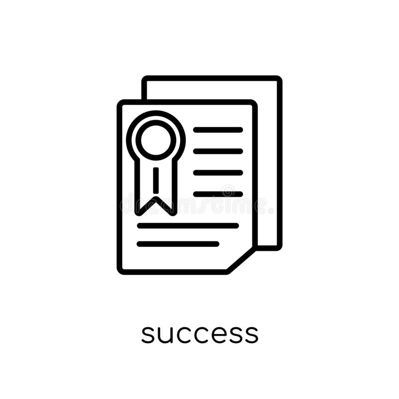 Success icon from collection. vector illustration