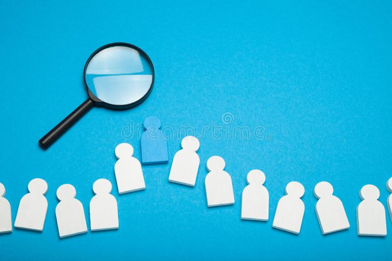Success job search, achievement advice. Agency hiring, business career royalty free stock photography