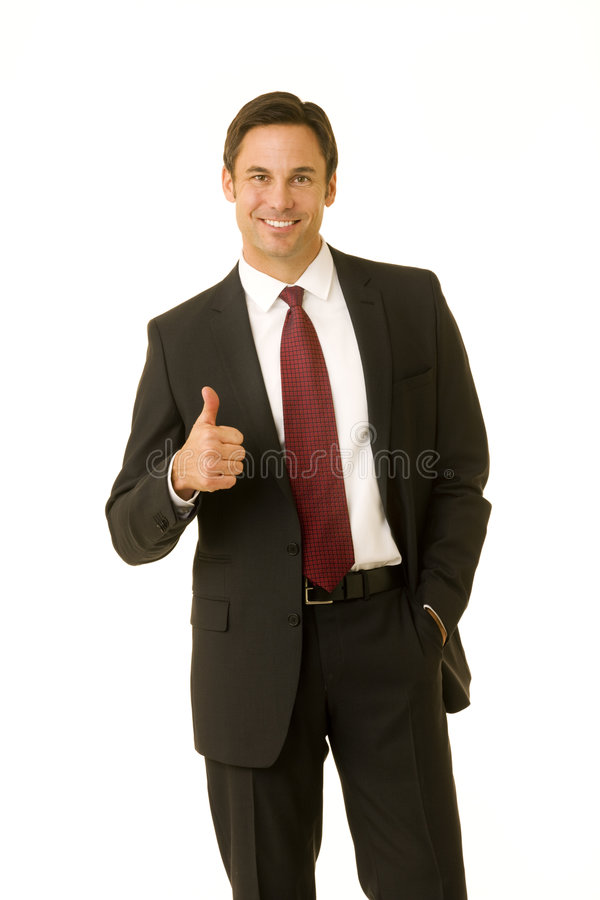 Success, job well done stock photography