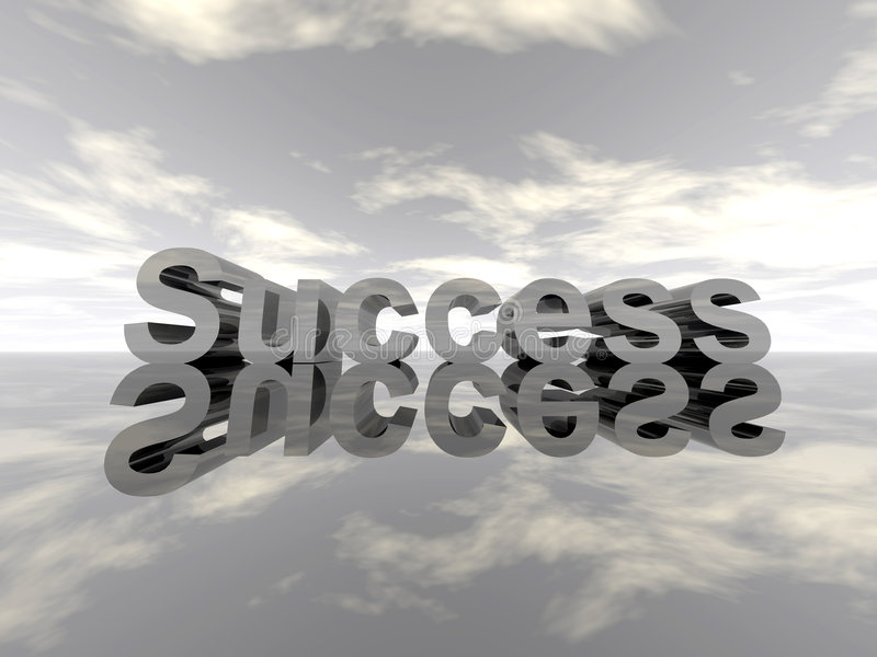 Success - landscape royalty free stock photos