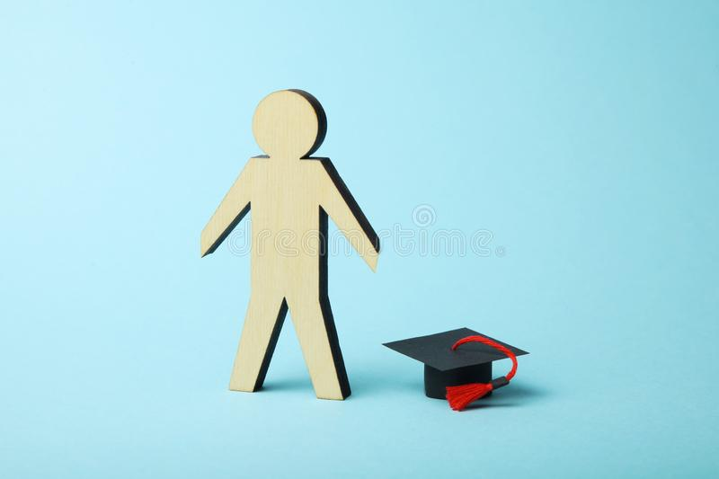 Success learn in academy. University education, knowledge world and scientific.  royalty free stock photos