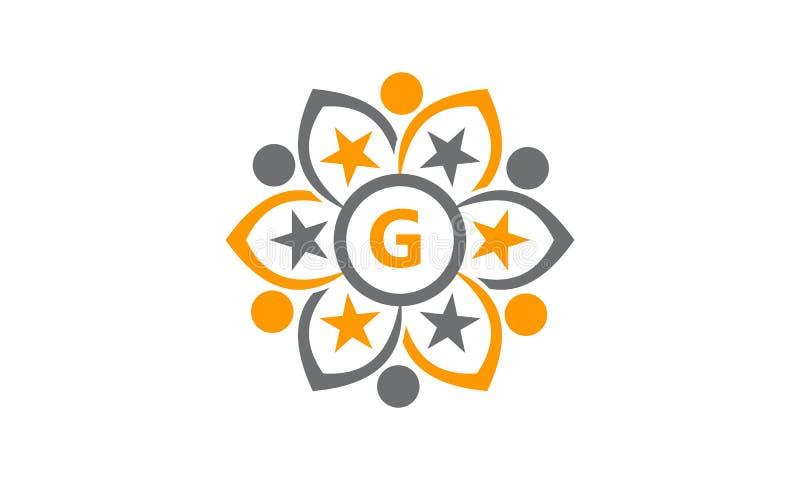 Success Life Coaching Letter G. Logo Design Template Vector vector illustration