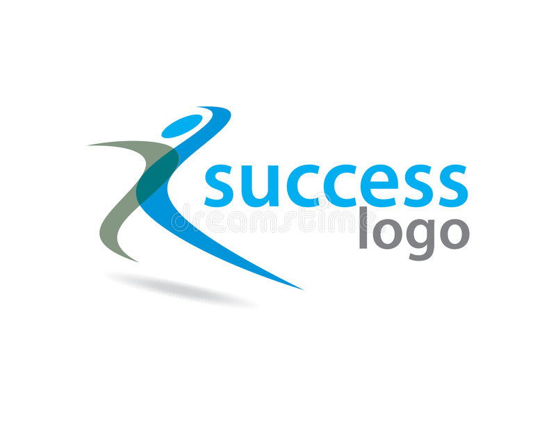 Success logo vector illustration
