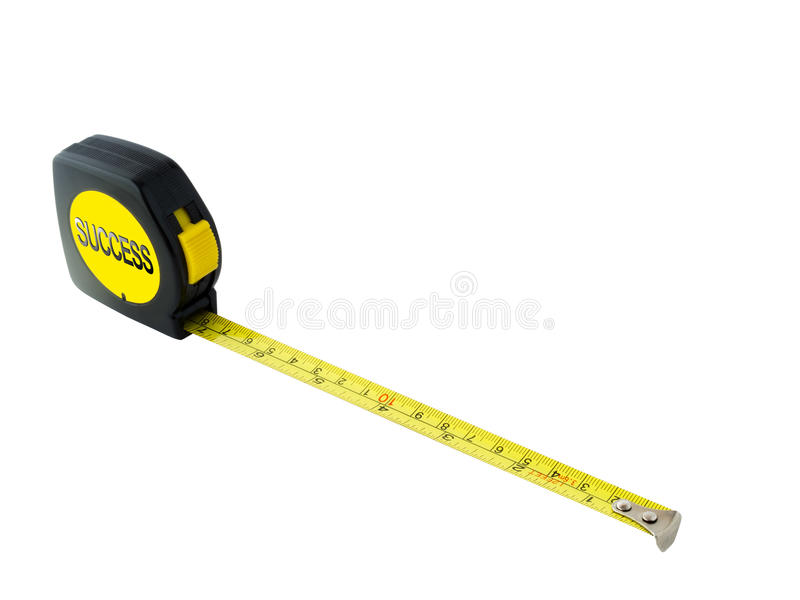 Success Measuring Tape Stock Photos