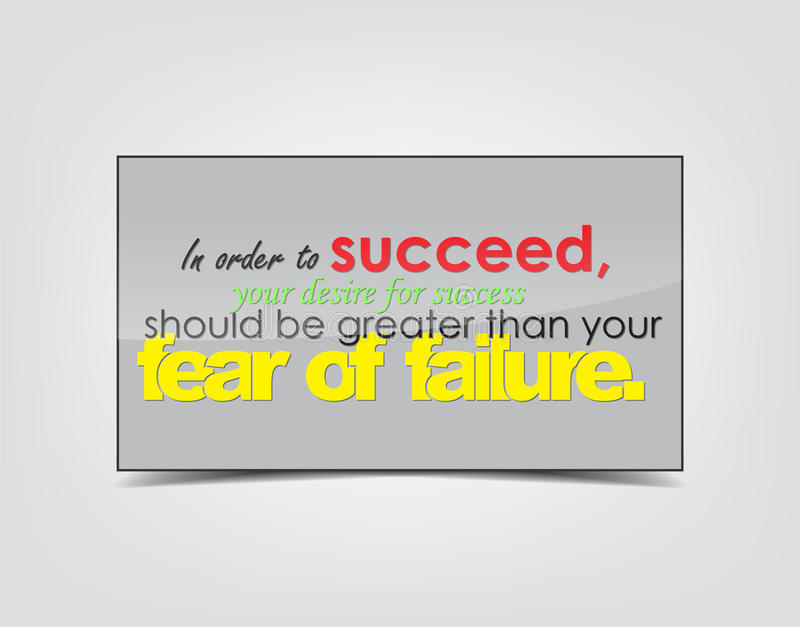 Success motivational Background vector illustration