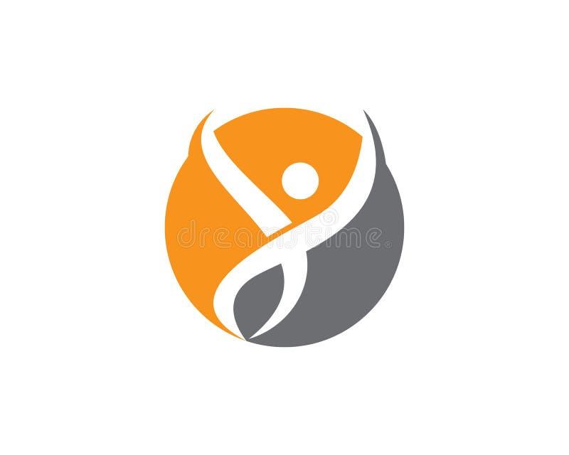 Success people business logo and symbols stock illustration