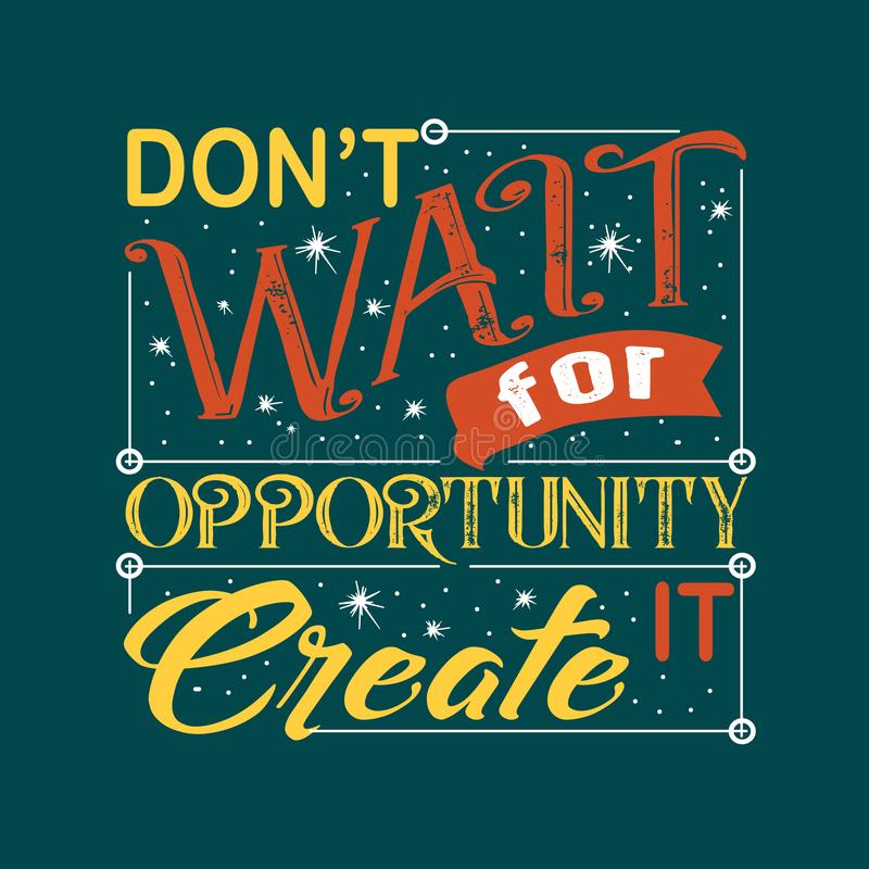 Success Quote and Saying good for print design stock illustration