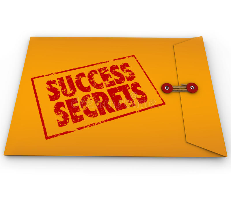 Download Success Secrets Winning Information Classified Envelope Stock Illustration - Image: 31478086