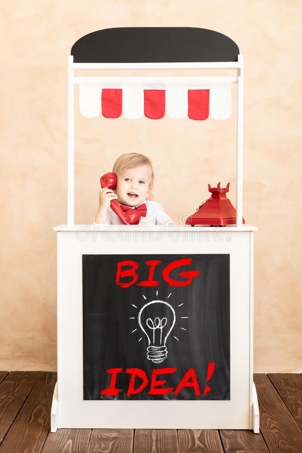 Success, start up and business idea concept royalty free stock images