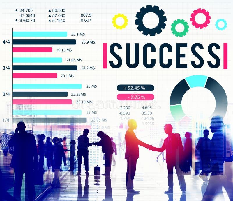 Success Successful Goal Achievement Complete Concept.  stock photography