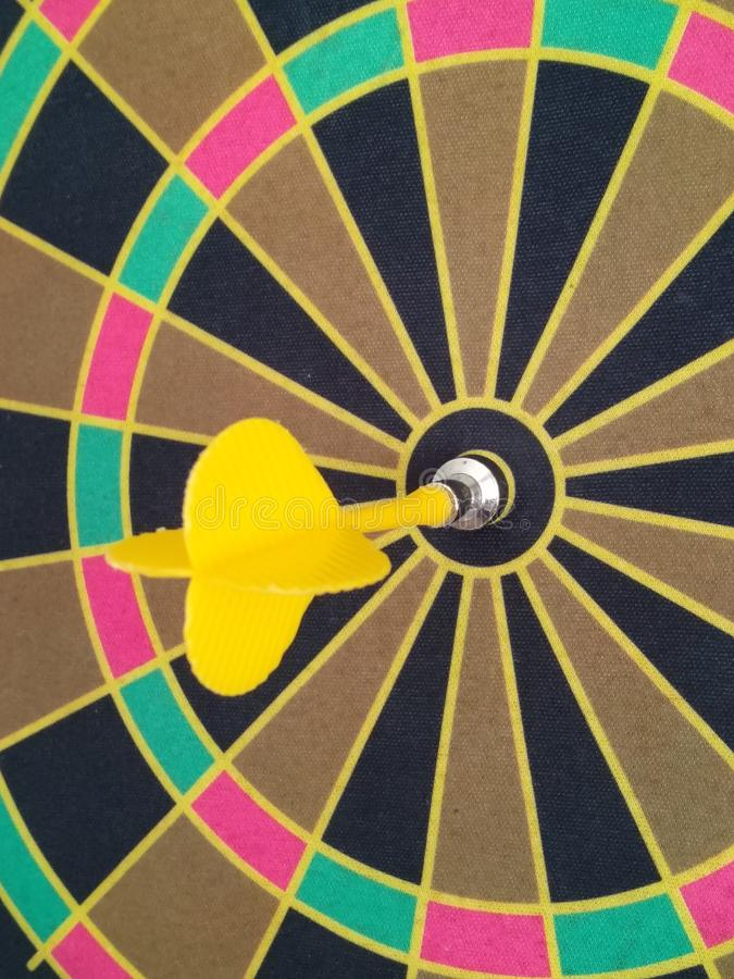 Success on target royalty free stock photo