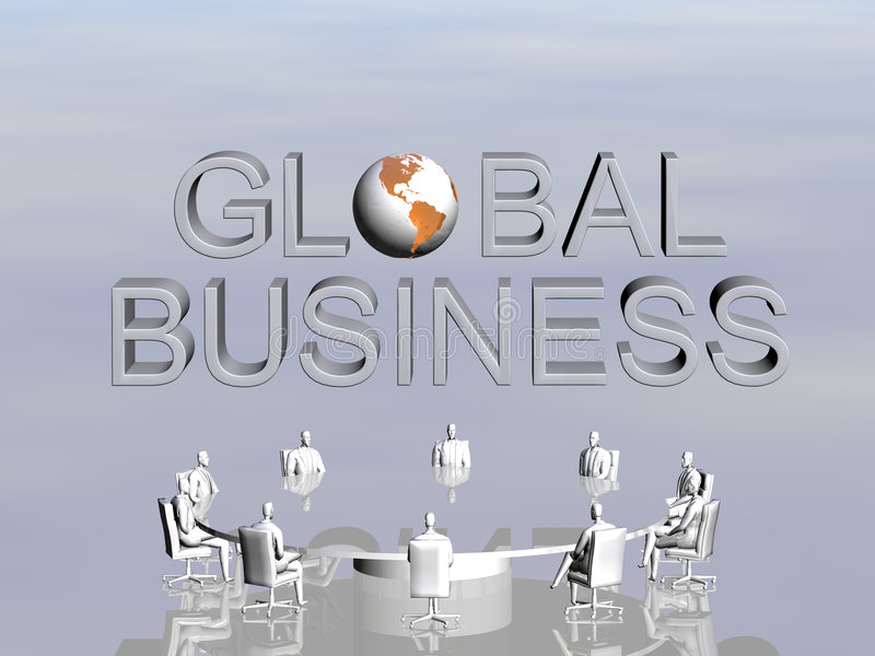 Download The Success Team In Global Conference. Stock Illustration - Image: 1157887