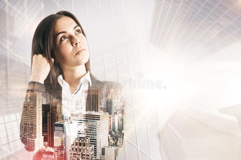 Success and think concept royalty free stock image