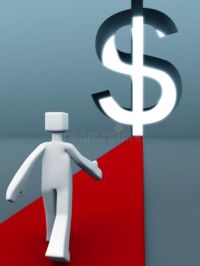 Success Of Wealth Concept Stock Photography
