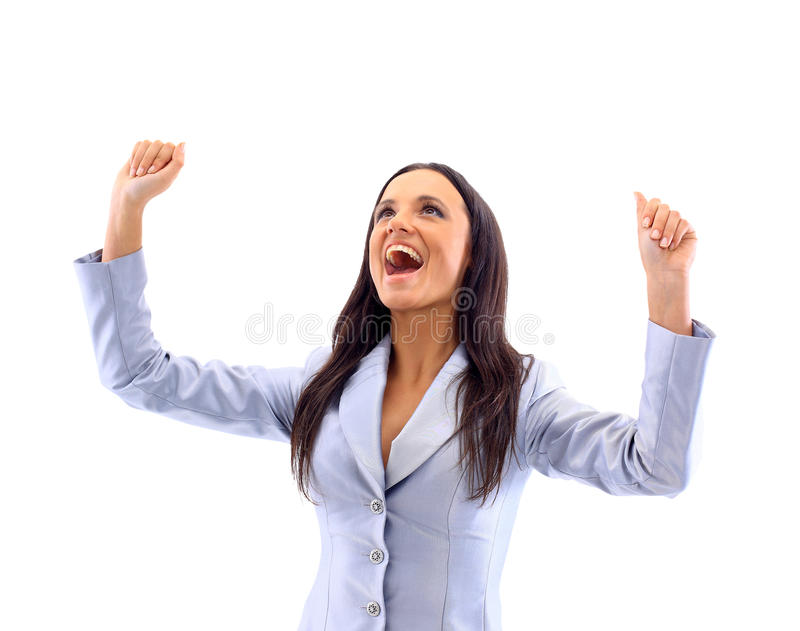 Download Success Woman Screaming Stock Photography - Image: 18838532