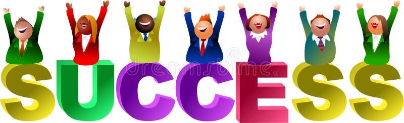 Success word royalty free illustration