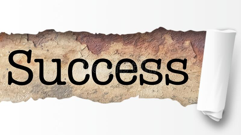 Success word business coach stock illustration