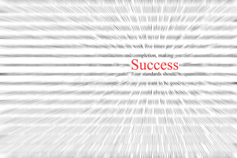 Success wording stock images