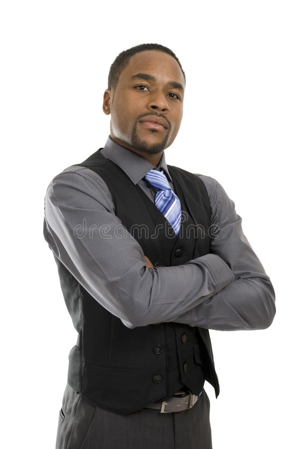 Free Successful African American Business Man Stock Photos - 12708663