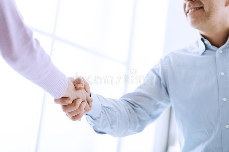 Successful agreement royalty free stock image