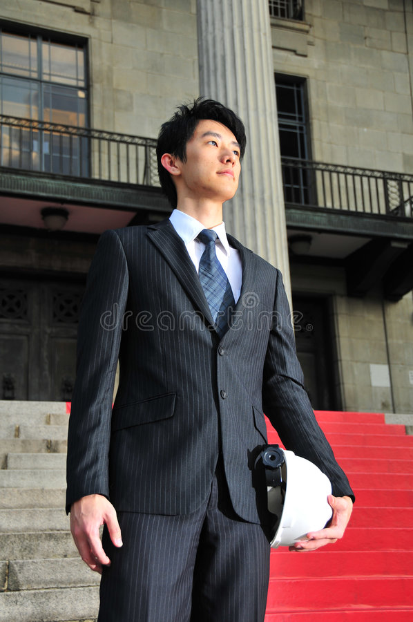 Download Successful Asian Engineer 5 Stock Photo - Image: 6242572