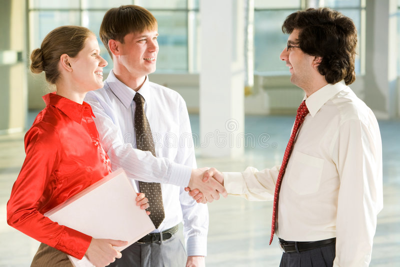 Download Successful bargain stock image. Image of cooperation, concept - 7689785