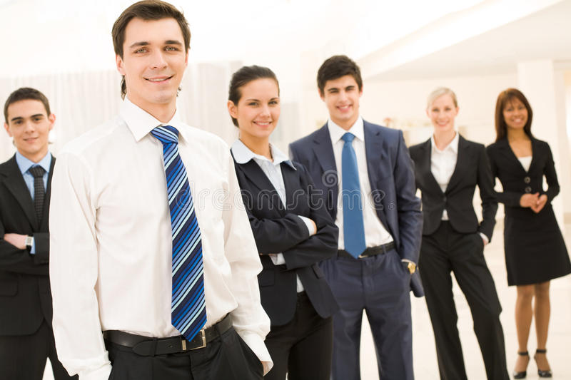Download Successful boss stock image. Image of attractive, businesspeople - 10675767